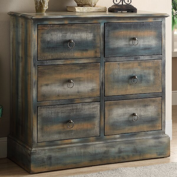 Philbrick 6 Drawer Accent Chest By World Menagerie