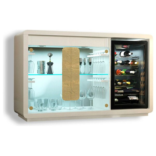 Laivai Bar Cabinet with Wine Storage