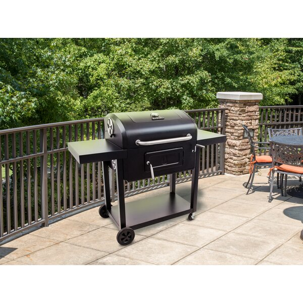 Charcoal Grill 780 with Side Shelves by Char-Broil
