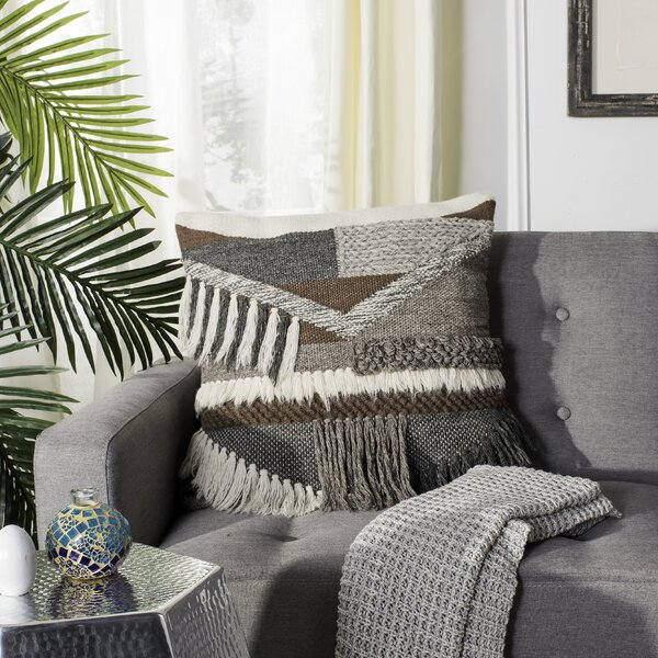 Bannock Wool Throw Pillow by Foundry Select