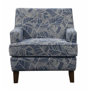 Stoneham Welcoming Leaf Patterned Armchair