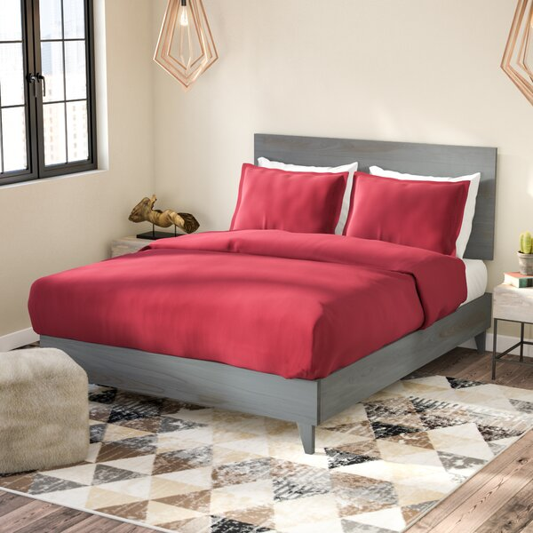 Alayna Industrial Platform Bed and Headboard by Union Rustic