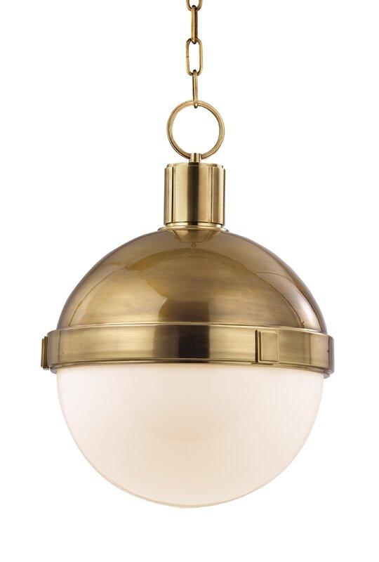 Kenny 1-Light Pendant. Shop Drew's Honeymoon House! {Kitchen & Dining Room} #PropertyBrothers