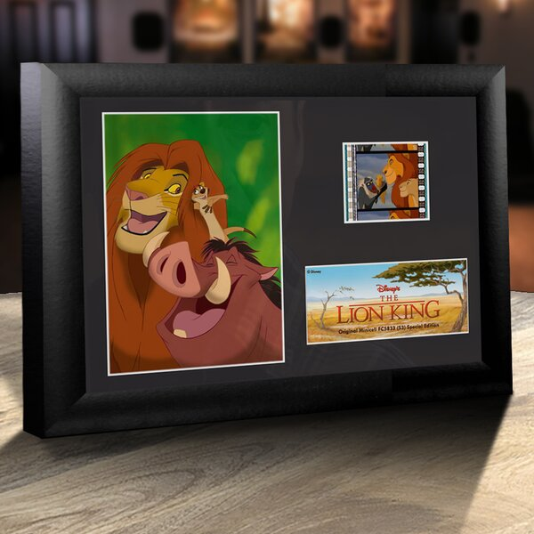 Disney Lion King (The Gang) Framed FilmCells Decorative Plaque by Trend Setters