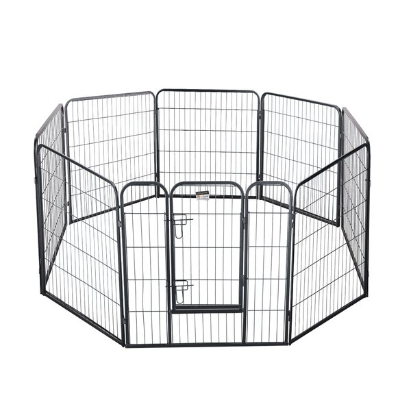 Aurelia Textured Duty Pet Haven Playpen by Tucker Murphy Pet