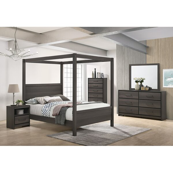 Sharma Canopy Configurable Bedroom Set by Foundry Select