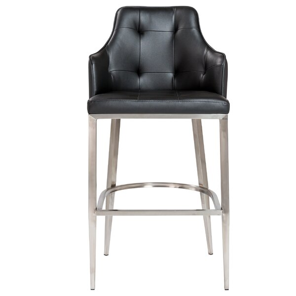 Aurianna 29.5 Bar Stool by Orren Ellis