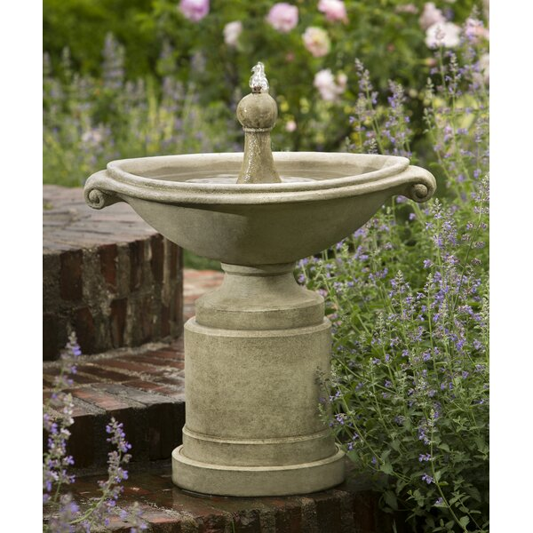 Borghese Concrete Fountain by Campania International
