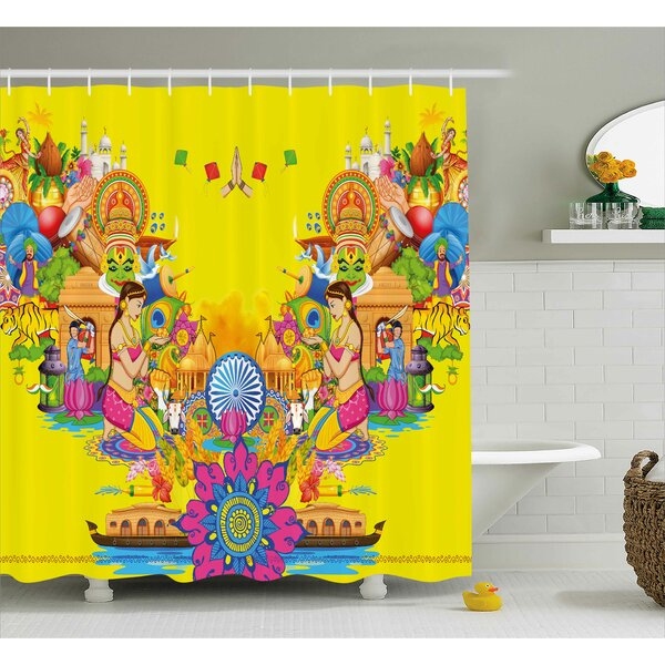 Fan Cooler Modern Decor Shower Curtain by East Urban Home