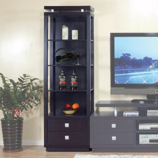 Spacious Tower Multimedia Cabinet by Latitude Run