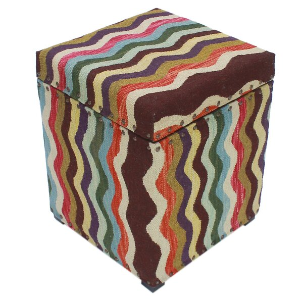 Anrey Tufted Storage Ottoman By World Menagerie
