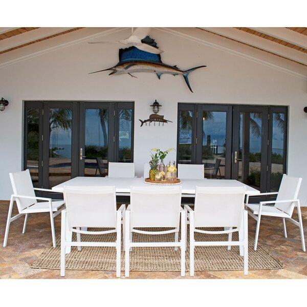Mykonos 9 Piece Dining Set by Panama Jack Outdoor