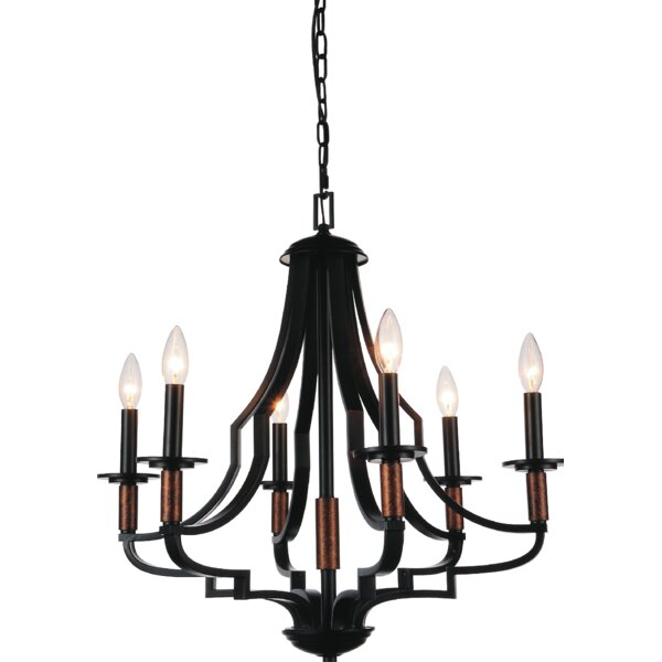 Harger 6-Light Candle Style Empire Chandelier By Gracie Oaks