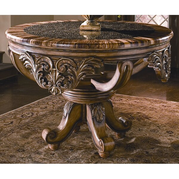 Dynasty Foyer Counter Height Solid Wood Dining Table by Benetti's Italia Benetti's Italia