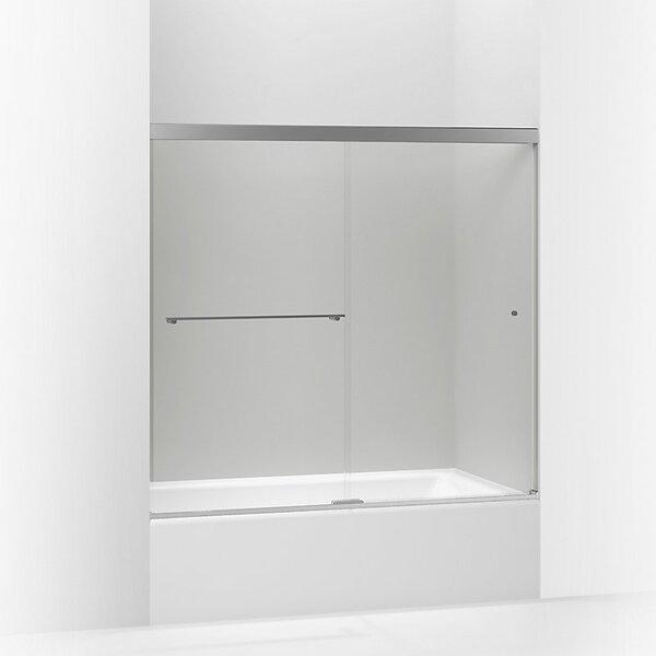 Revel 59.63'' x 55.5'' Double Sliding Semi-Frameless with CleanCoat® Technology by Kohler