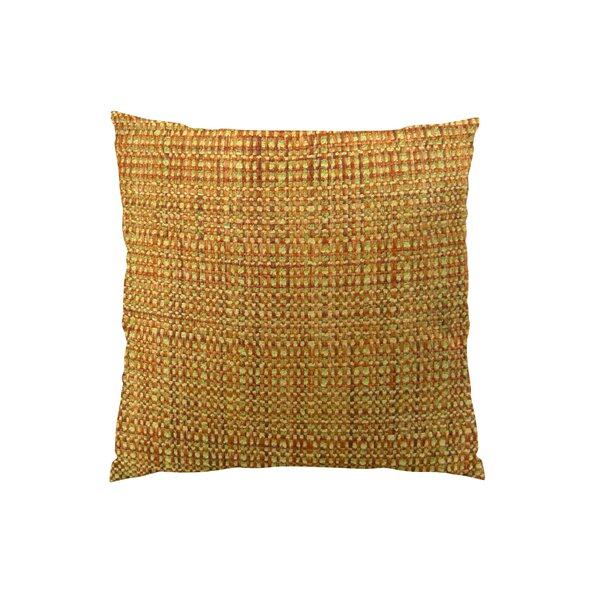 Kosoff Paprika Handmade Throw Pillow by Plutus Brands
