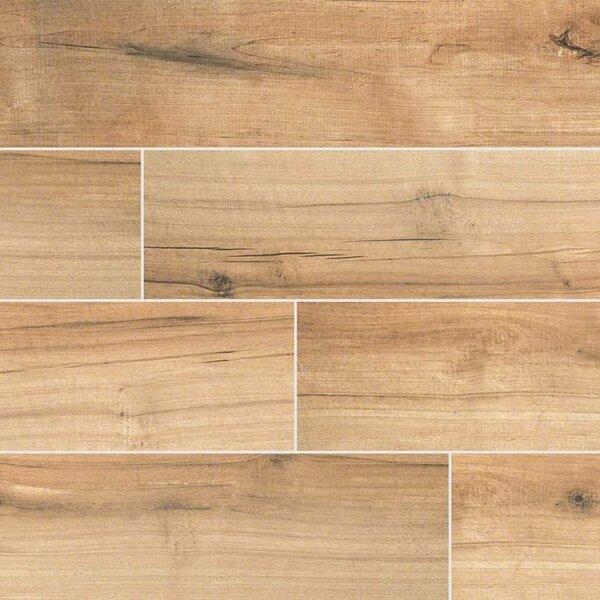 Palmetto Cognac 6 X 36 Porcelain Tile Wood Look In Brown Reviews Allmodern