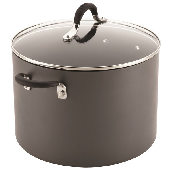 10-qt. Non-Stick Stock Pot with Lid by Circulon