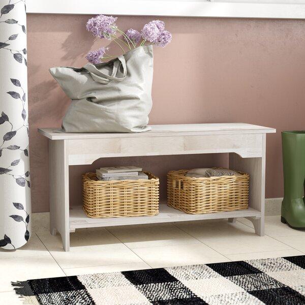 Lynn Wood Storage Bench by Mistana
