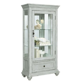 Incroyable Tower City Base Lighted Curio Cabinet