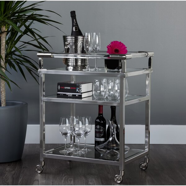 Moncasa Bar Cart By Sunpan Modern 2019 Sale