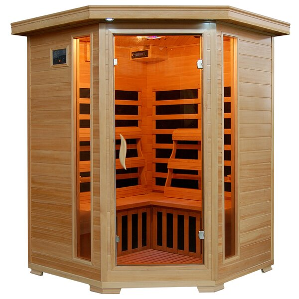 3 Person FAR Infrared Sauna by Radiant Saunas