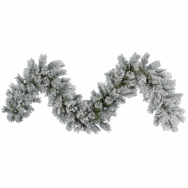 Frosted Pine Artificial Christmas Garland by Vickerman