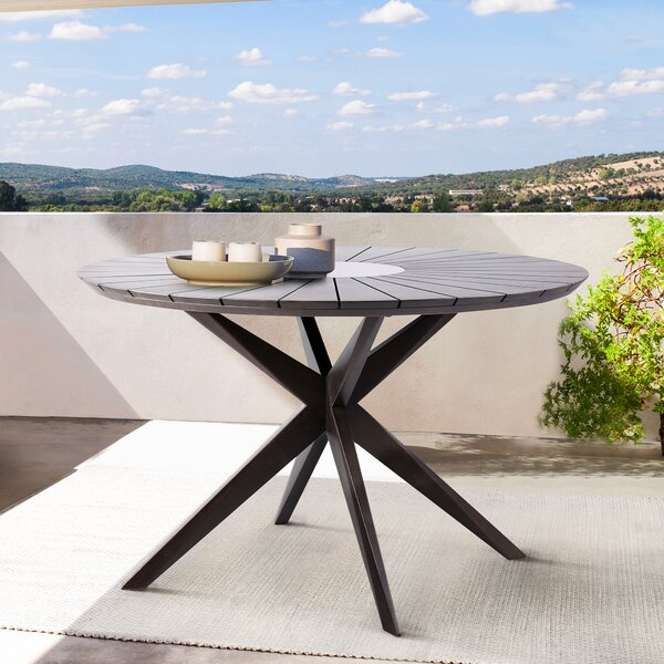 Eleonora Dining Table by Rosecliff Heights