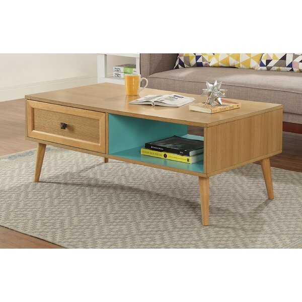 Millard Coffee Table With Storage By Union Rustic