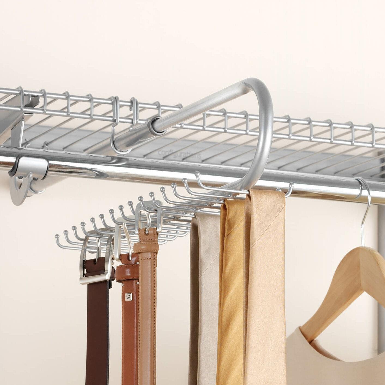 Rubbermaid Configurations Closet Tie And Belt Organizer U0026 Reviews | Wayfair