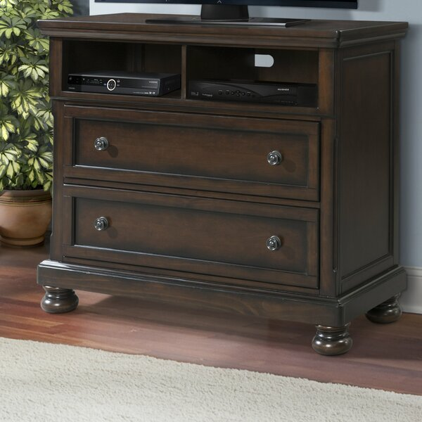 Review Beadling 2 Drawer Media Chest