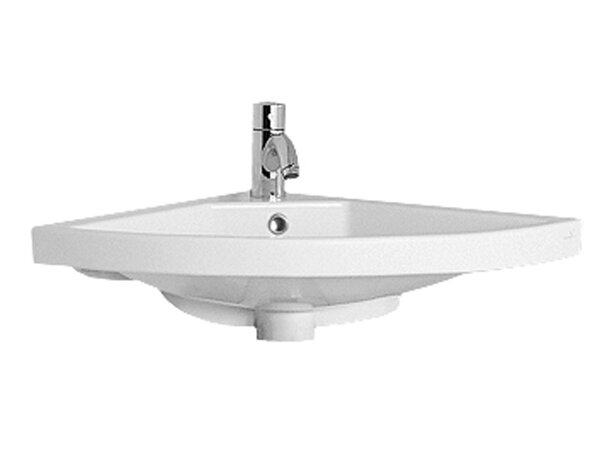 China Ceramic Specialty Wall-Mount Bathroom Sink with Overflow by Whitehaus Collection