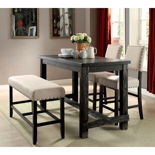 Pub tables bistro sets youll love wayfair ahner counter height pub table workwithnaturefo