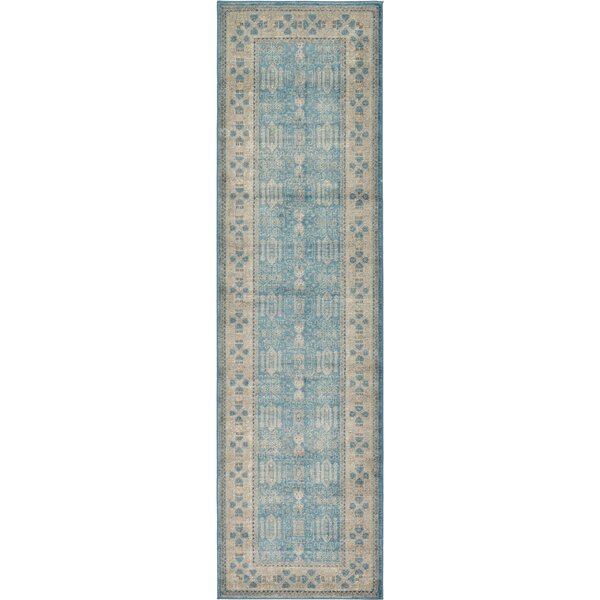 Brierfield Blue/Brown Area Rug by World Menagerie