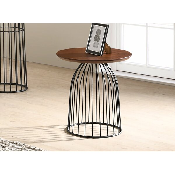 Renwick Wooden End Table by Williston Forge