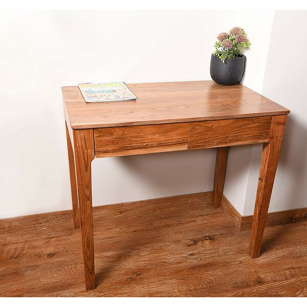 Brunella Solid Wood 2 Drawer End Table By Union Rustic