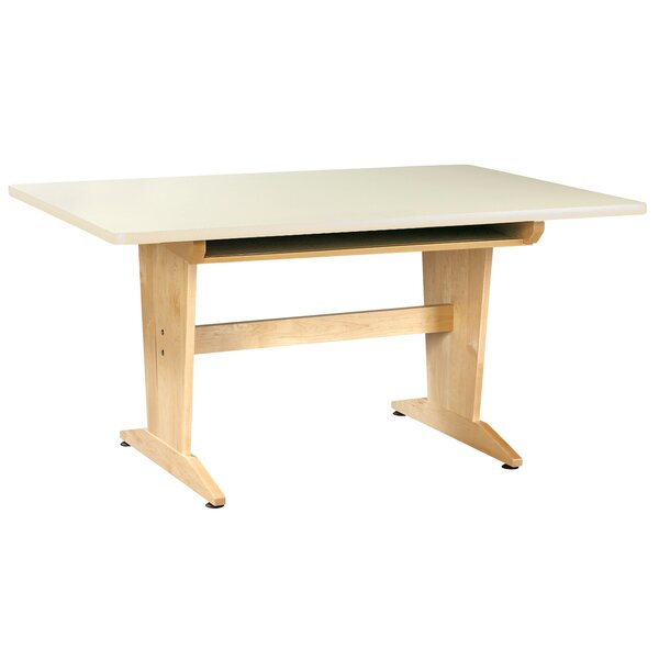Manufactured Wood Multi-Student Desk by Diversified Woodcrafts