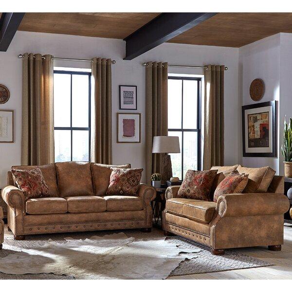Gabrielle 2 Piece Living Room Set by Loon Peak