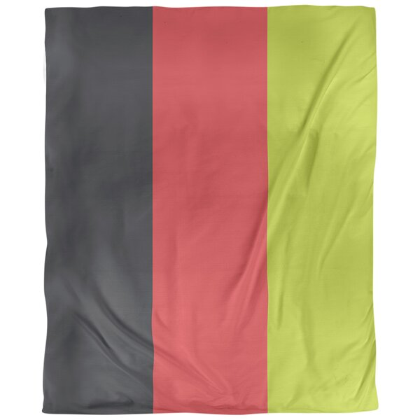 Atlanta Basketball Reversible Duvet Cover