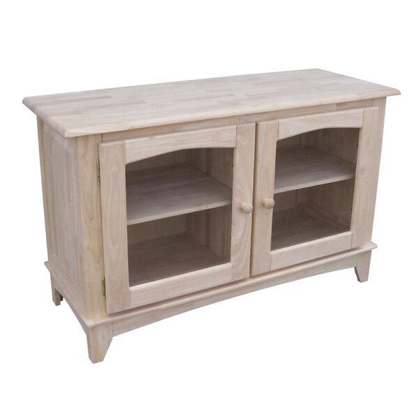 Schindler Solid Wood TV Stand For TVs Up To 55