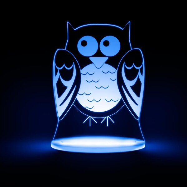 Owl LED Night Light by Total Dreamz