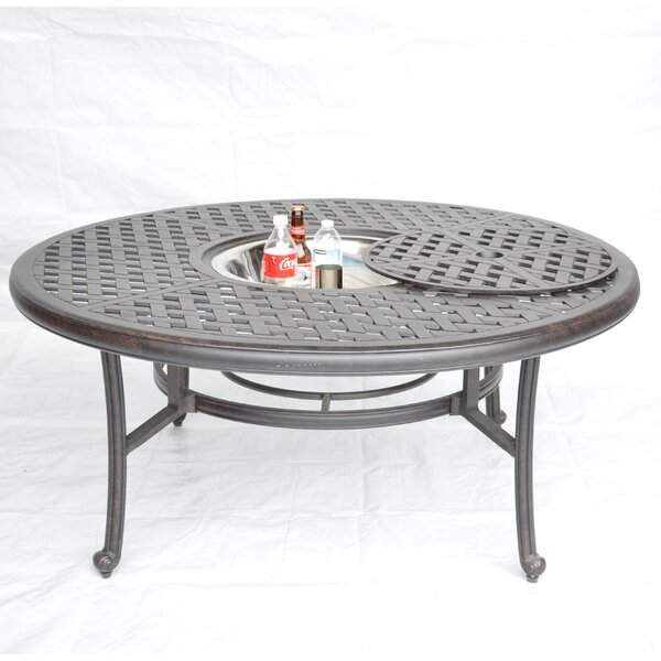 Nola Coffee Table with Ice Bucket by Darby Home Co