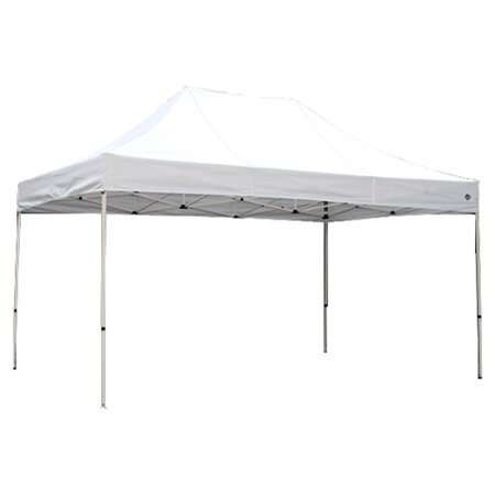 Festival 10 Ft. W x 20 Ft. D Steel Pop-Up Party Tent by King Canopy