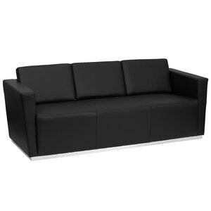 Hypnos Leather Sofa by Wade Logan