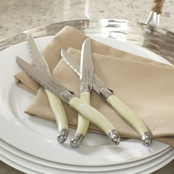 Alsace Laguiole Steak Knife Set (Set of 4) by Birc