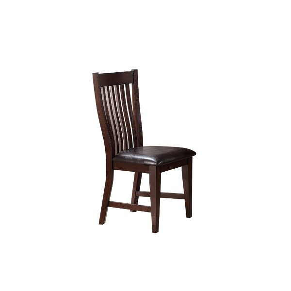 Seiling Upholstered Dining Chair (Set of 2) by Loon Peak