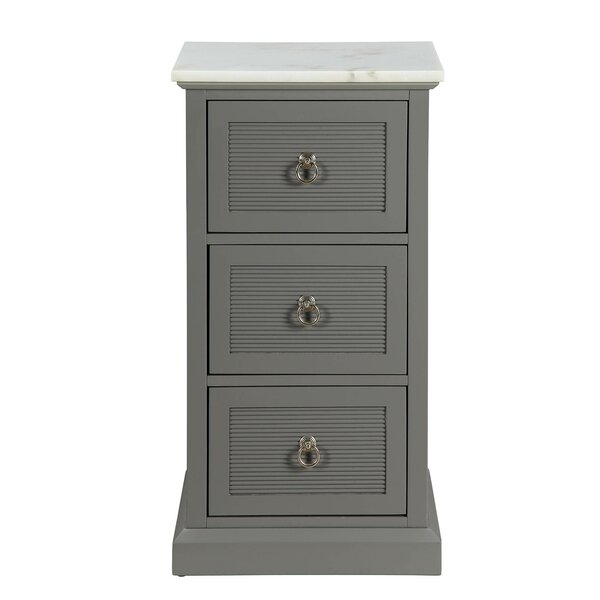 Stonefort 3 Drawer Accent Chest by Winston Porter Winston Porter