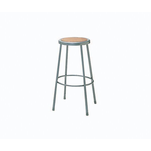 Height Adjustable Steel Hardboard Seat Stool by Nexel