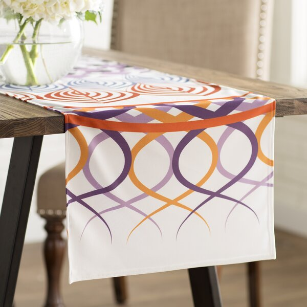 Famenxt Vintage Mandala Table Runner by East Urban Home