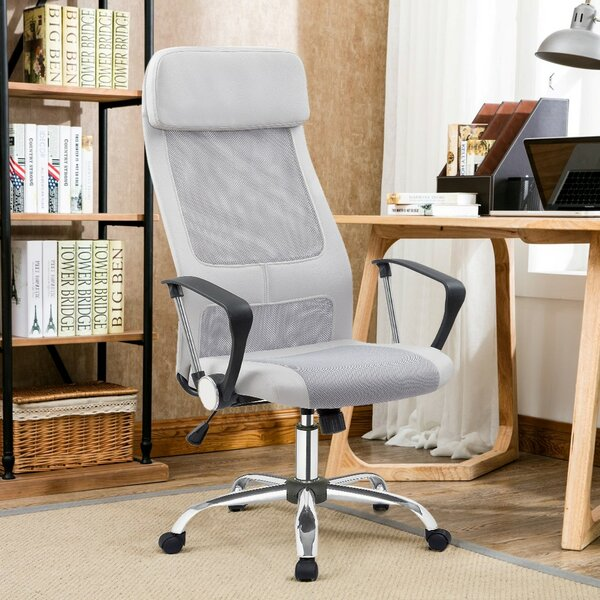 Ellery High-Back Mesh Desk Chair by Porthos Home